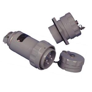 无火花型防爆三相四极插头插座连接器