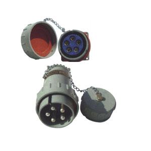 无火花型防爆三相五极插头插座连接器